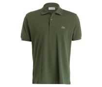 Piqué-Poloshirt Classic-Fit - khaki