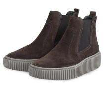 Hightop-Sneaker - DUNKELBRAUN
