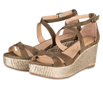 Wedges KACY - BRAUN