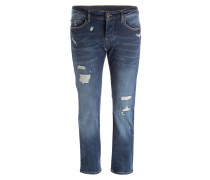 Destroyed-Jeans ROCCO Relaxed-Skinny Fit