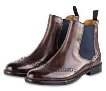 Chelsea-Boots SELINA 6 - BRAUN