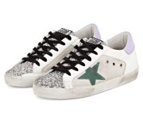 Sneaker SUPERSTAR - WEISS/ SILBER/ LILA
