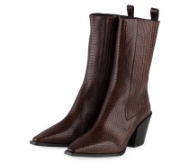 Cowboy Boots ARI - BRAUN