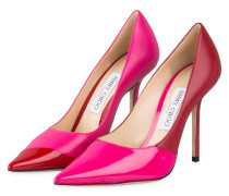 Pumps LOVE 100 - HOT PINK/ RED