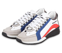 Sneaker 551 - WEISS/ HELLGRAU/ BLAU