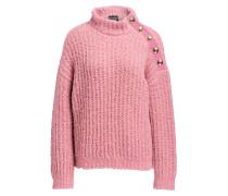 Pullover mit Alpaka-Anteil - rosa