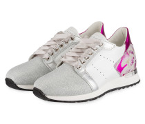 Sneaker LUCY - WEISS/ PINK/ SILBER