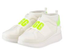 Hightop-Sneaker NEUTRA NEON - WEISS/ GELB