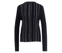 Pullover - dunkelblau/ creme