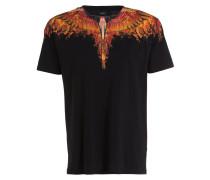 T-Shirt FLAME WING - schwarz