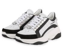 Plateau-Sneaker BUMPY 551 - WEISS/ SCHWARZ