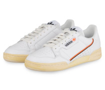 Sneaker CONTINENTAL 80 - WEISS/ ORANGE