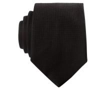 Krawatte - schwarz strukturiert