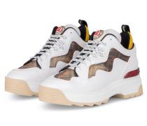 Sneaker - WEISS/ BRAUN
