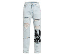 Destroyed Jeans Lowed Fit