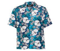 Halbarm-Hemd aus Seide