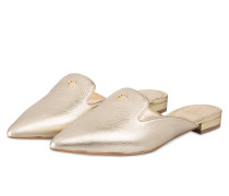 Slipper SASKIA - GOLD METALLIC