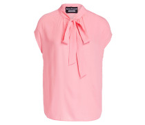 Blusentop mit Seidenanteil - rosa