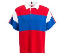 Strick-Poloshirt