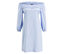Off-Shoulder-Kleid CIDOLORES - hellblau
