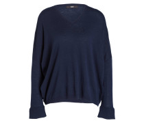 Pullover - navy/ weiss