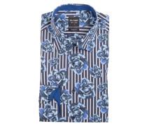 Hemd Level Five body fit - blau/ royal