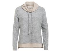 Sweatshirt mit Galonstreifen