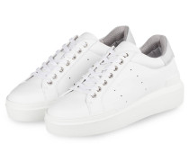Plateau-Sneaker HOLLYWOOD 1E - WEISS