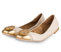 Ballerinas MINNIE - CREME/ GOLD