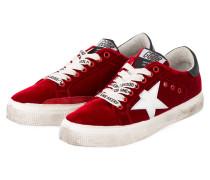 Samt-Sneaker SUPERSTAR - ROT