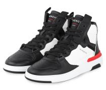 Hightop-Sneaker WING - SCHWARZ/ WEISS/ ROT