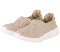 Slip-on-Sneaker - gold metallic