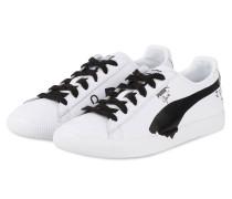 Sneaker CLYDE - WEISS/ SCHWARZ