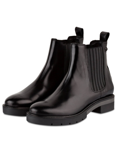 Auslass Heißen Verkauf Tommy Hilfiger Damen Chelsea-Boots - SCHWARZ Billig Verkauf Zahlung Mit Visa Auslass Perfekt Erstaunlicher Preis Spielraum Top-Qualität O6V8fz0