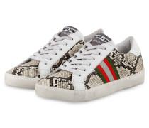 Sneaker - WEISS/ HELLBEIGE/ BRAUN