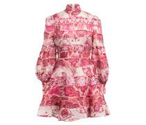 Kleid WAVELENGTH mit Leinen und Seide