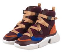 Sneaker SONNIE HIGH - DARK PURPLE