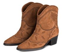 Cowboy Boots TEXAS - BRAUN