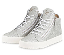 Hightop-Sneaker KRISS - SILBER