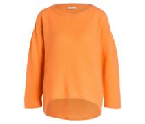 Cashmere-Pullover - orange