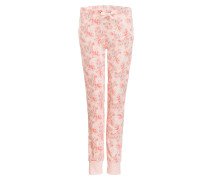 Schlafhose - koralle/ rosa