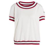 T-Shirt - creme/ rot/ navy