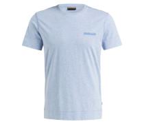 T-Shirt SHEW - hellblau meliert