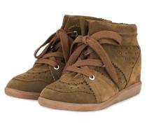 Plateau-Sneaker BOBBY - OLIV