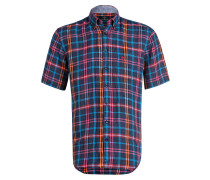 Halbarm-Leinenhemd Comfort Fit