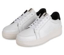 Plateau-Sneaker CUBA - WEISS