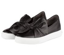Slip-On-Sneaker BASKET - schwarz