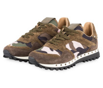 Sneaker RUNNING STUDDED CAMOUFLAGE