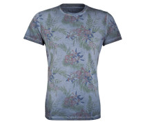 T-Shirt - blau/ grün