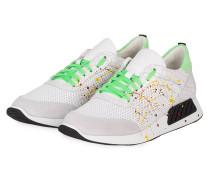 Sneaker RACY18 - WEISS/ GRÜN
